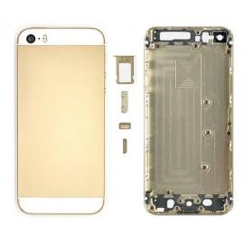 Coque arrière Or pour iPhone 5S