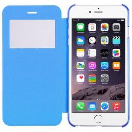 Etui Flip Cover bleu iPhone 6 Plus / 6S Plus