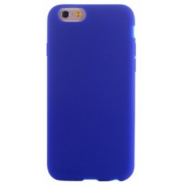 Coque silicone bleu iPhone 6