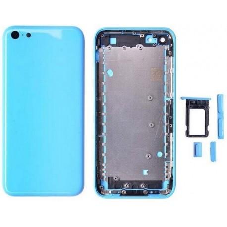 coque arriere bleu ciel pour iphone 5c