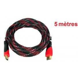 Câble HDMI 5 mètres