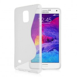 Housse S Line Galaxy Note 4 Transparent