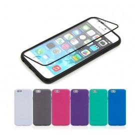Coque silicone intégrale iPhone 6 Plus / 6S Plus