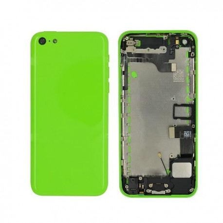 Coque arrière complète iPhone 5C Vert