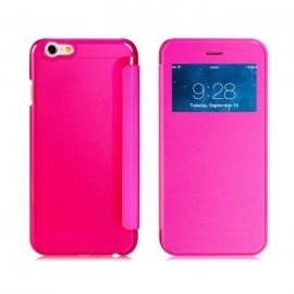 Etui Flip Cover Rose iPhone 6 Plus