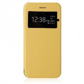 Etui Flip Cover Jaune iPhone 6 Plus / 6S Plus