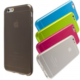 Coque silicone translucide iPhone 6