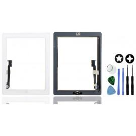 Vitre tactile complète blanche iPad 4