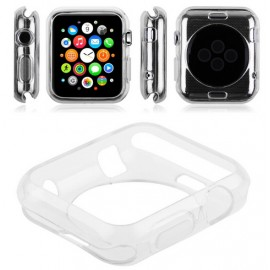 Coque silicone Transparent Apple Watch 38mm