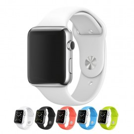 Bracelet en silicone pour Apple Watch 38mm