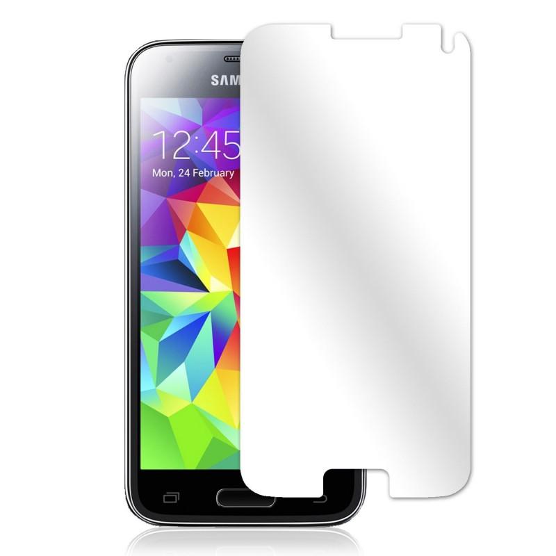 film de protection miroir samsung galaxy s5 mini tout pour phone. Black Bedroom Furniture Sets. Home Design Ideas