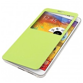 Coque Flip cover Samsung Galaxy Note 3 Vert