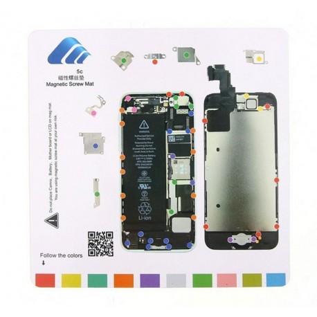 Patron vis magnétique iPhone 5C