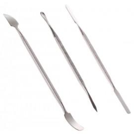 Pack 3 Spatules métallique
