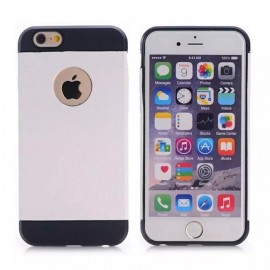 Coque silicone Croco iPhone 6 Plus / 6s Plus : Blanc