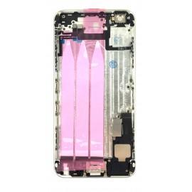 Coque arrière complète iPhone 6 Plus Argent